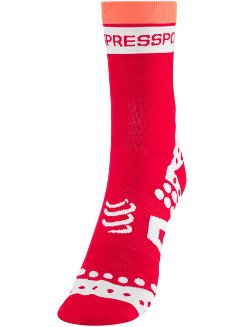 Compressport Racing Ultralight Bike Socks Red